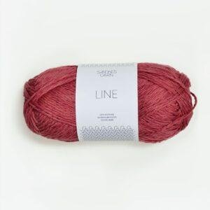 Sandnes Line 4335 - Hindbærrød