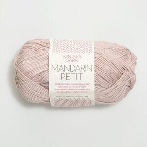 Garn Sandnes Mandarin Petit 3511 - Pudderrosa
