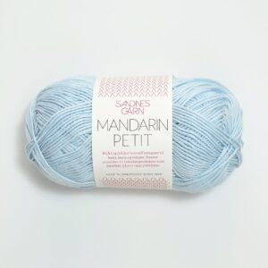 Bomuldsgarn Sandnes Mandarin Petit 5930 - Lys Blå