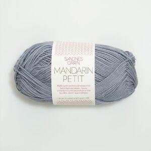Bomuldsgarn Sandnes Mandarin Petit 6030 - Grå