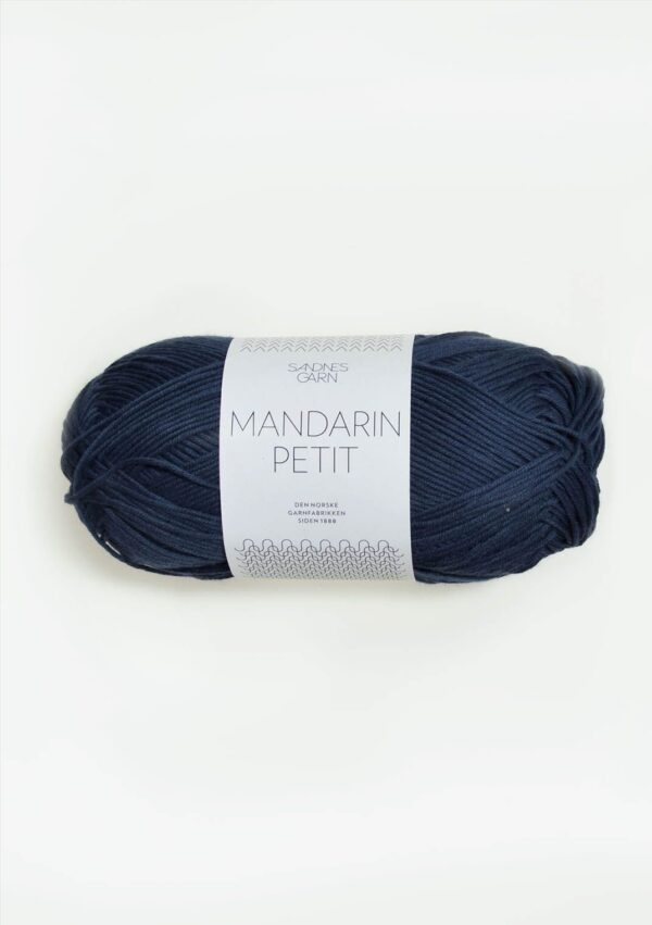 Sandnes Mandarin Petit 6072 - Marineblå