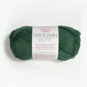 Sandnes Mandarin Petit 8052 - Mørk Grøn
