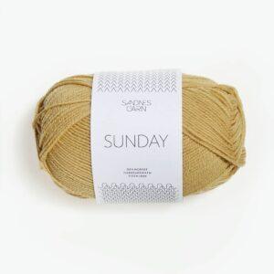 Sandnes Sunday 2123 - Strågul