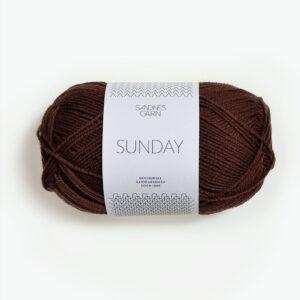 Sandnes Sunday 3072 - Mørk Brun