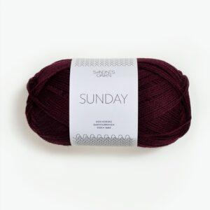 Sandnes Sunday 4372 - Dyb Burgunder