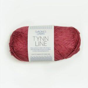 Garn Sandnes Tynn Line 4335 - Hindbær