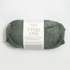 Garn Sandnes Tynn Line 8561 - Grøn