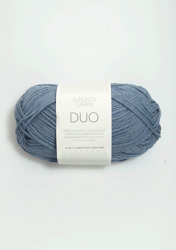 Garn Sandnes Duo 6033 - Jeansblå