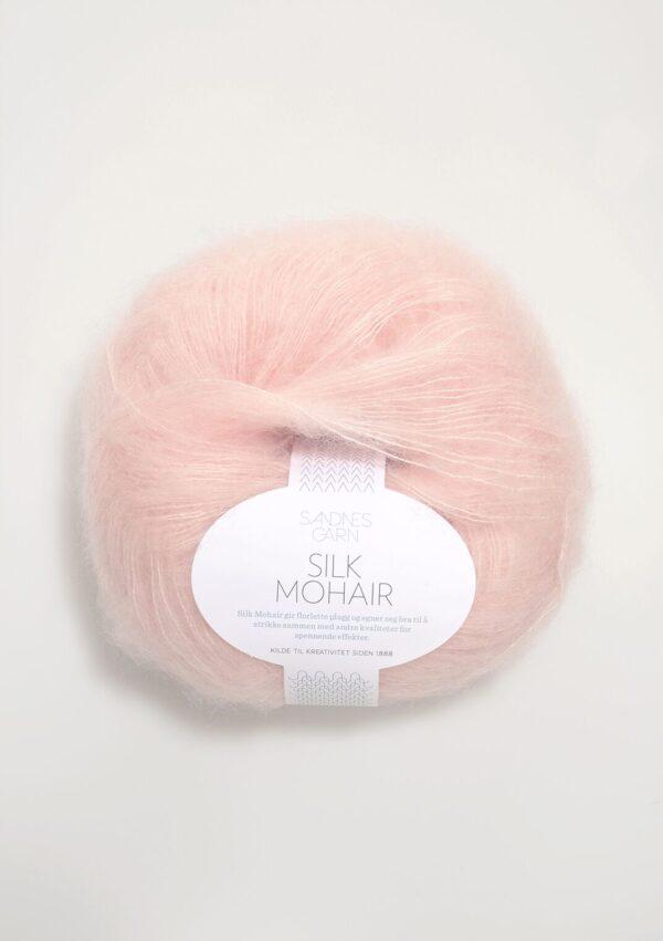 Sandnes Silk Mohair 3511 - Pudder Rosa