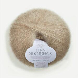 Sandnes Tynn Silk Mohair 3021 - Lys Beige