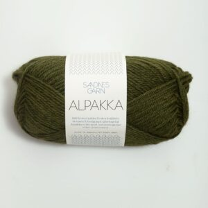 Sandnes Alpakka 9573 - Mosegrøn