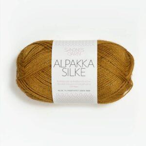 Alpakka Silke 2135 - Okker
