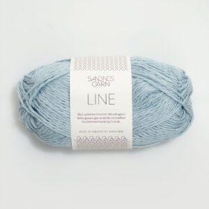 Garn Sandnes Line 5930 - Lys Blå