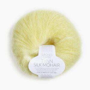 Sandnes Tynn Silk Mohair 2101 - Lys Gul