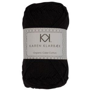 KK Color Cotton 8/4 0017 Black