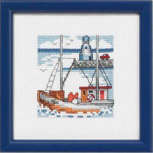 14-5193 Lille blåt fyrtårn