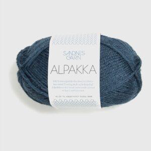 Sandnes Alpakka 6572 Mørk Blåmeleret