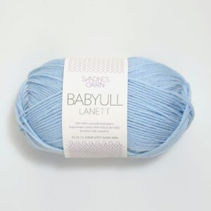 Garn Babyll Lanett 5930 babyblå