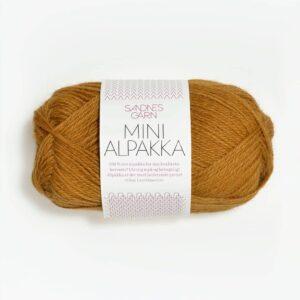 Garn Mini Alpakka 2335 - Sennepsgul