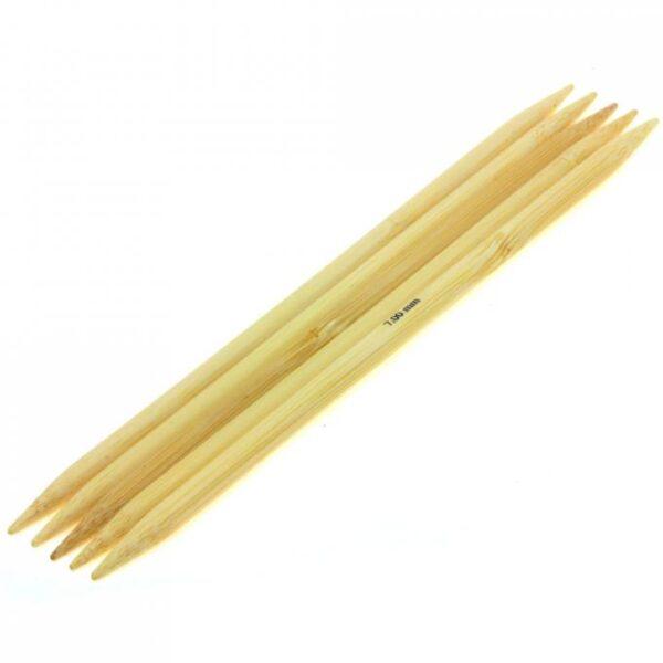 KnitPro Bambus strømpepinde 7,0 mm
