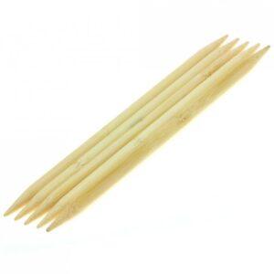 KnitPro Bambus strømpepinde 8,0 mm