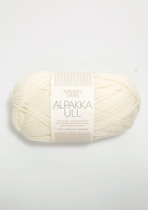 Sandnes Alpakka Ull 1002 - Hvid