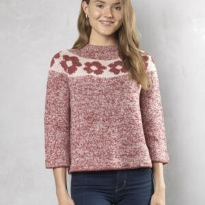 5003 Blomstersweater