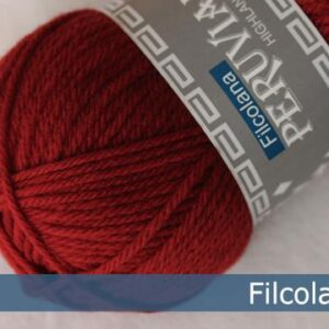 Filcolana Peruvian Highland Wool 225 - Christmas Red