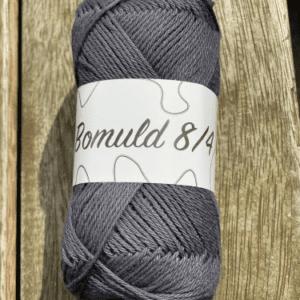 KJ Bomuld farve 41 - Mørk støvet blå