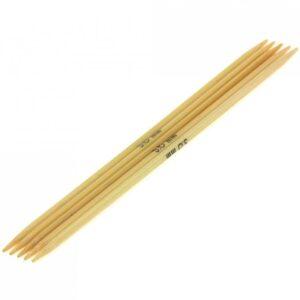 KnitPro Bambus strømpepinde Kort 3,0 mm