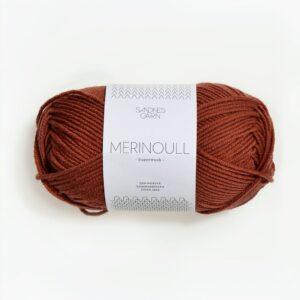 Sandnes Merinoull 3345 - Rust