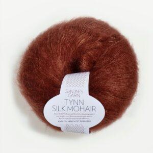 Tynn Silk Mohair 3554 Rust