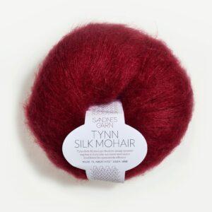 Sandnes Tynn Silk Mohair 4236 - Dyb Rød