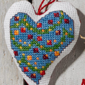 01-0252 Guirlande i hjerte