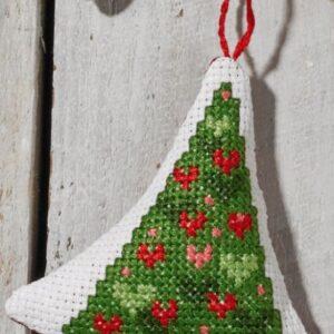 01-0255 Hjerter i juletræ