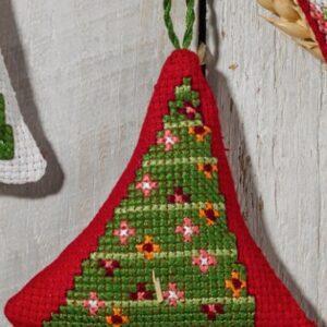 01-0258 Juletræ med hjerter