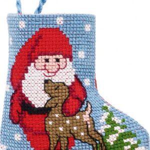 Julestrømpe med julemand
