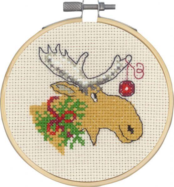 13-0294 Elg og julekugle