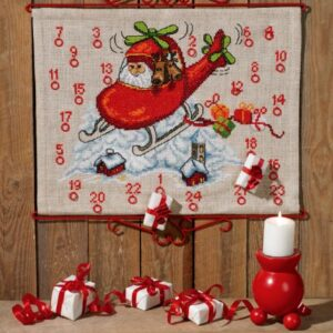 Julekalender med Julemand i helicopter