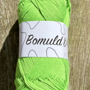 KJ Bomuld farve 35 - Lime