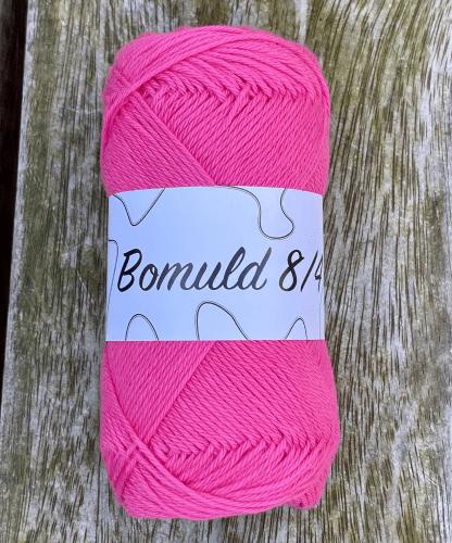KJ Bomuld farve 49 - Pink