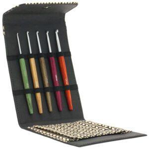KnitPro hæklenålssæt sort