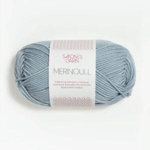 Sandnes Merinoull 6531 - Isblå