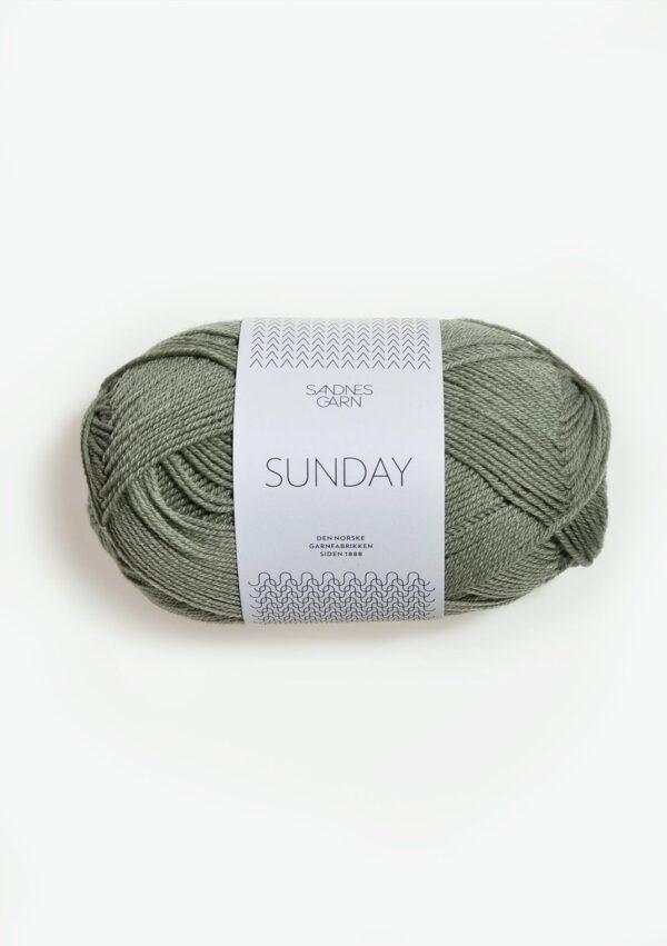 Sandnes Sunday 8521 - Støvet lys Grøn