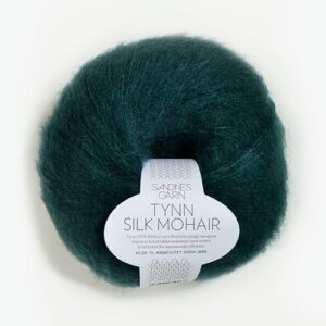 Sandnes Tynn Silk Mohair 7272 Dyb Petrol