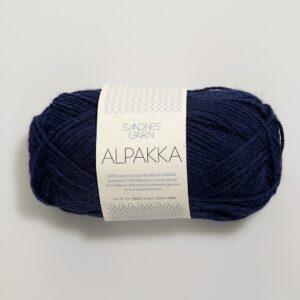 Alpakka 5575 Marineblå