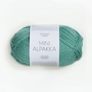 Garn Sandnes Mini Alpakka 7533 Søgrøn