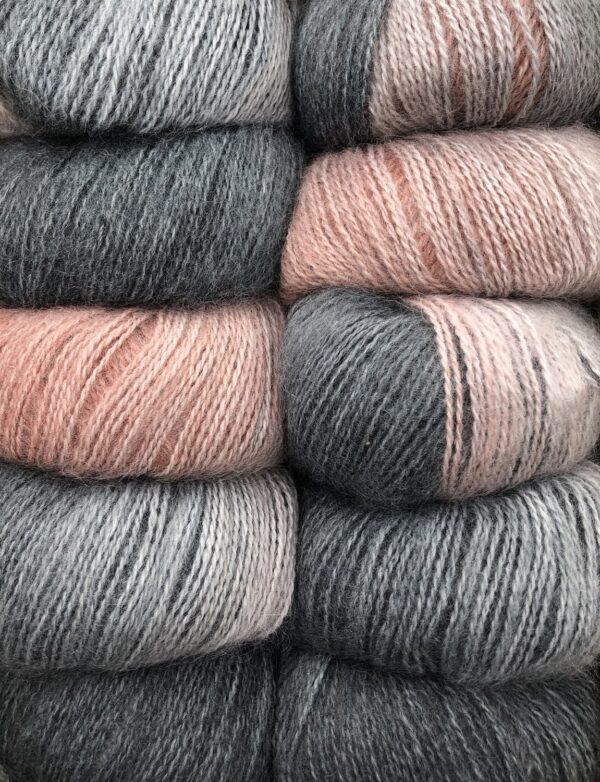 Dolce Multi farve 413 Rosa og Grå