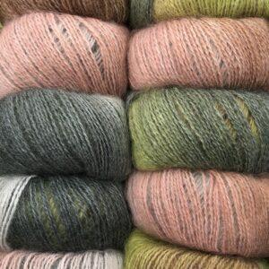 Dolce Multi farve 415 Grøn og Rosa