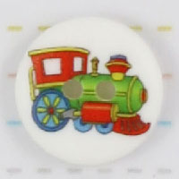 Knap med lokomotiv